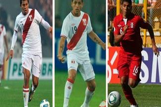 Perú-Chile: Rinaldo Cruzado, Yoshimar Yotún y Juan Carlos Mariño llegaron a Lima