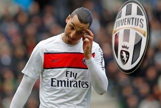 Zlatan Ibrahimovic dejaría París Saint-Germain por Juventus