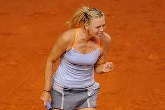 María Sharapova clasificó a semifinal del Torneo de Stuttgart
