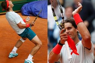 Rafael Nadal 'revivió' ante David Ferrer y accedió a semifinales de Madrid