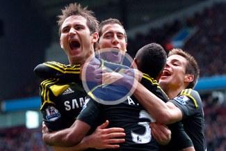 Chelsea tiene casi segura la clasificación a la Champions League 2014 [VIDEO]