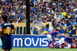 San Lorenzo goleó 3-0 a Boca Juniors que podría ser colero en Argentina [VIDEO]