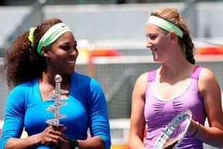 Serena Williams  y Victoria Azarenka jugarán la final del Masters de Roma