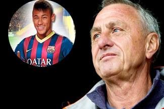 Johan Cruyff: Nunca he visto a Neymar, me imagino que será bueno
