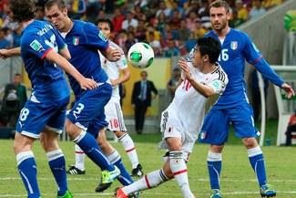 Copa Confederaciones: El partidazo entre Italia y Japón en imágenes [FOTOS]