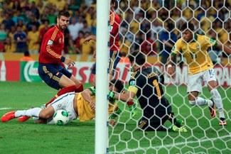 Copa Confederaciones: Fred adelantó a Brasil a los dos minutos [VIDEO]