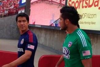 Raúl Fernández y Walter Vílchez empataron en duelo de peruanos