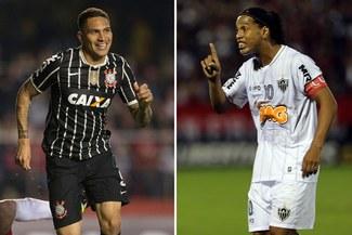 Corinthians-Atlético Mineiro: Paolo Guerrero y Ronaldinho protagonizarán electrizante duelo