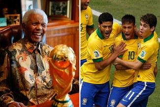 Brasil y Sudáfrica jugarán un amistoso en homenaje a Nelson Mandela