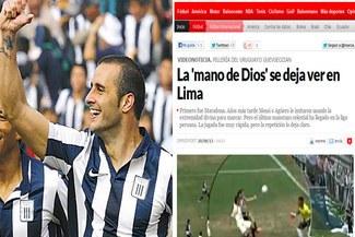 Alianza Lima: Prensa española comparó gol de Guevgeozián con el de Maradona [VIDEO]