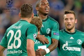 Con Jefferson Farfán: Schalke 04 pasó a fase de grupos de la Champions League [VIDEO]