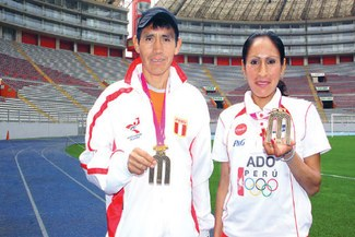 Gladys Tejada y Raúl Pacheco se aprestan a brillar en los XVII Juegos Bolivarianos Perú 2013