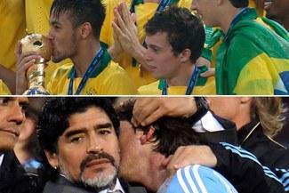 Diego Maradona: Argentina es candidata a ganar el Mundial 2014, por debajo de Brasil