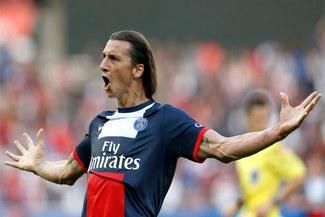 PSG con gol de Zlatan Ibrahimovic venció 2-0 a Guingamp [VIDEO]