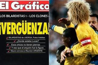 Hoy se cumplen 20 años del histórico 5-0 de Colombia sobre Argentina [VIDEO]