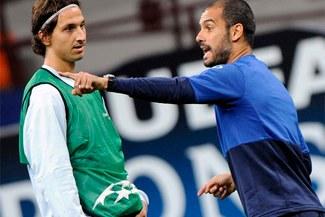 "Zlatan Ibrahimovic: ""Guardiola me convirtió en un jugador peor"""