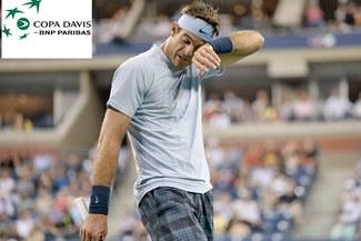 Juan Martín del Potro es culpado por la eliminación argentina en Copa Davis [VIDEO]