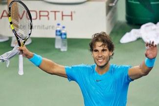Rafael Nadal lidera ampliamente el ránking mundial de tenis masculino