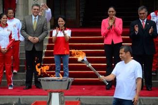 """Juegos Bolivarianos: Cenaida Uribe afirmó que """"Perú estará en el ojo de todo el mundo"""""""