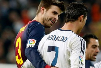 "Gerard Piqué: ""Admiro a Cristiano Ronaldo, es un ejemplo a seguir"""