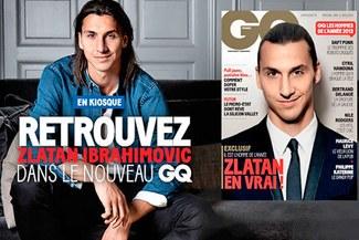 Zlatan Ibrahimovic es el 'Hombre del año', según la revista 'GQ' [VIDEO]