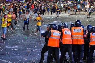 Murió tiroteado un hincha de Boca Juniors que participó en violentos festejos