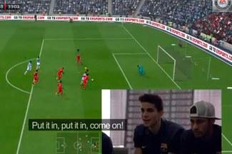 Jugadores de Barcelona realizaron torneo de FIFA 14 [VIDEO]