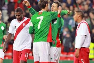 Selección peruana cayó 6 - 0 ante País Vasco en partido amistoso en Bilbao [VIDEO]
