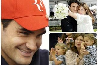 """Roger Federer: """"Seré padre por tercera vez en 2014"""""""