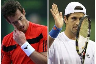Andy Murray y Fernando Verdasco, eliminados del torneo de Doha