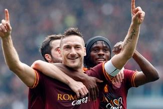 Seria A: Roma goleó  4-0 al Genoa [VIDEO]