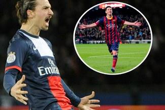 """Zlatan Ibrahimovic: """"Lionel Messi hace cosas que sólo se ven en los videojuegos"""""""
