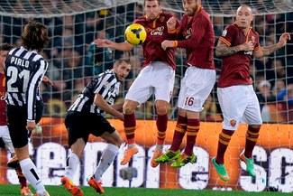 La Roma venció 1-0 a la Juventus y ya está en semifinales de la Copa Italia [VIDEO]