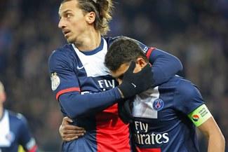 Con Zlatan Ibrahinovíc, el PSG empató de visita 1-1 ante el Guingamp