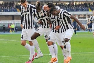 Juventus aplicó la 'maldición del superlíder' a Chievo [VIDEO]