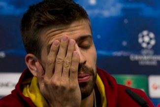 """Gerard Piqué: """"Seguimos a un partido y no es preocupante"""""""