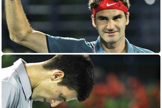 Roger Federer venció a Novak Djokovic y jugará final de Bubai [VIDEO]