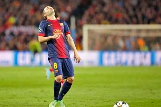 Barcelona: Andrés Iniesta es baja ante Valladolid por motivos personales