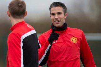 """Robin Van Persie: """"Quiero seguir en el Manchester"""""""