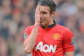 Robin Van Persie se lesionó y no jugará ante Bayern Múnich