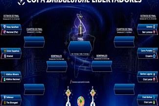 Copa Libertadores: Así quedaron las 'llaves' de octavos de final [VIDEO]