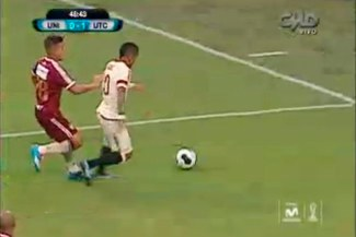 Universitario de Deportes vs UTC: Mira la falta sobre Alexi Gómez que se reclamó como penal [VIDEO]