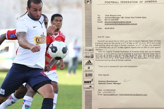 Alianza Lima: Selección de Armenia hizo oficial la convocatoria de Mauro Guevgeozián
