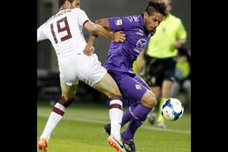 Fiorentina con Juan Vargas, igualó 2-2 con el Torino en la última fecha de la Serie A [VIDEO]
