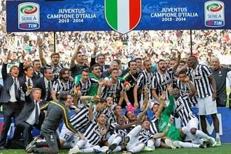 Juventus celebró a lo grande su tricampeonato en el 'Calcio' [VIDEO]