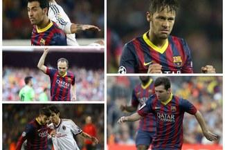 Barcelona: Lionel Messi y Neymar comandan los cinco jugadores  intransferibles por los catalanes