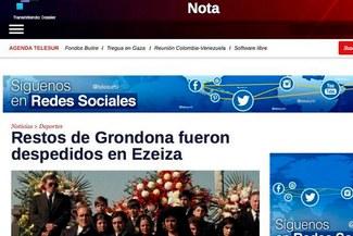 Julio Grondona: Medio venezolano confundió entierro de dirigente argentino con film 'El Padrino' [VIDEO]