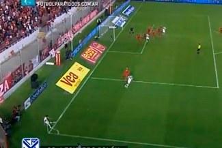 Vélez Sarsfield humilló en su casa 4-0 a Independiente con gol olímpico incluido [VIDEO]