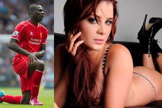 """Mario Balotelli: El """"Nene"""" habría terminado con novia por bella conejita de Play Boy [FOTOS]"""