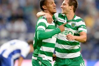 0f4788e1e7 André Carrillo con el Sporting de Lisboa le ganó 4-2 al Marítimo de Jhonny